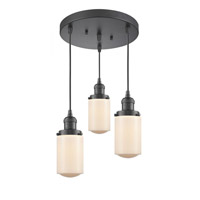 Oil Rubbed Bronze Steel Dover Pendants