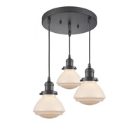 Oil Rubbed Bronze Steel Olean Pendants