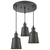Innovations Lighting 211/3-OB-M9 Addison 3 Light 12 inch Oiled Rubbed Bronze Multi-Pendant Ceiling Light