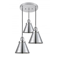Innovations Lighting 211/3-PC-M13-PC Appalachian 3 Light 14 inch Polished Chrome Multi-Pendant Ceiling Light Franklin Restoration