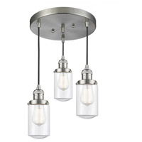 Satin Nickel Cast Brass Dover Pendants