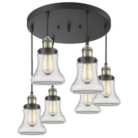 Antique Brass Glass Bellmont Pendants