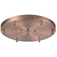 Innovations Lighting 212-AC Signature Antique Copper Pan