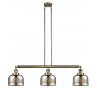 Innovations Lighting 213-AB-G78-LED Large Bell LED 41 inch Antique Brass Island Light Ceiling Light Franklin Restoration