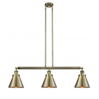 Innovations Lighting 213-AB-M13-AB-LED Appalachian LED 40 inch Antique Brass Island Light Ceiling Light, Franklin Restoration