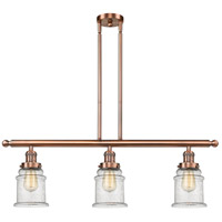 Canton LED 36 inch Antique Copper Island Light Ceiling Light