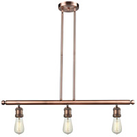 Innovations Lighting 213-AC Signature 3 Light 36 inch Antique Copper Island Light Ceiling Light