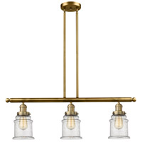 Canton LED 36 inch Brushed Brass Island Light Ceiling Light