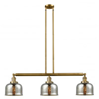 Innovations Lighting 213-BB-G78-LED Large Bell LED 41 inch Brushed Brass Island Light Ceiling Light Franklin Restoration