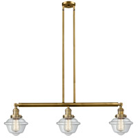 Brushed Brass Small Oxford Island Lights