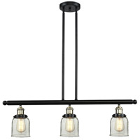 Innovations Lighting 213-BBB-G52 Signature 3 Light 36 inch Black and Brushed Brass Island Light Ceiling Light, Small, Bell photo thumbnail