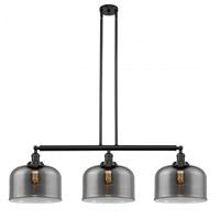 Innovations Lighting 213-BK-G73-L-LED X-Large Bell LED 42 inch Matte Black Island Light Ceiling Light Franklin Restoration