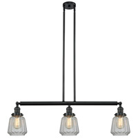 Chatham LED 39 inch Matte Black Island Light Ceiling Light, Adjustable