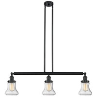 Bellmont LED 39 inch Matte Black Island Light Ceiling Light, Adjustable