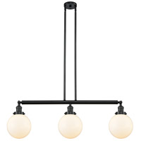 Beacon 3 Light 41 inch Matte Black Island Light Ceiling Light, Adjustable