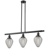 Geneseo 3 Light 36 inch Oiled Rubbed Bronze Island Light Ceiling Light