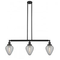 Innovations Lighting 213-OB-G165-LED Geneseo LED 38 inch Oil Rubbed Bronze Island Light Ceiling Light Franklin Restoration