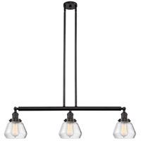 Innovations Lighting 213-OB-S-G172-LED Fulton LED 39 inch Oil Rubbed Bronze Island Light Ceiling Light Adjustable