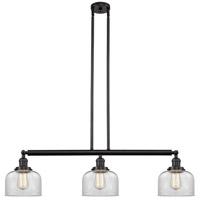 Innovations Lighting 213-OB-S-G72-LED Large Bell LED 41 inch Oil Rubbed Bronze Island Light Ceiling Light Franklin Restoration