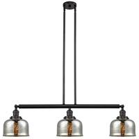 Innovations Lighting 213-OB-S-G78 Large Bell 3 Light 41 inch Oil Rubbed Bronze Island Light Ceiling Light Franklin Restoration