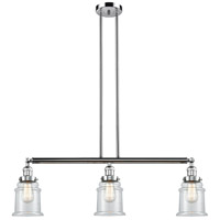 Canton 3 Light 39 inch Polished Chrome Island Light Ceiling Light
