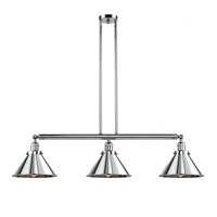 Polished Chrome Briarcliff Island Lights