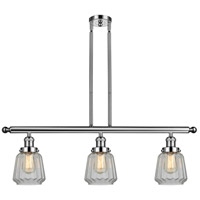Innovations Lighting 213-PN-G142-LED Chatham LED 36 inch Polished Nickel Island Light Ceiling Light