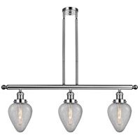 Polished Nickel Steel Geneseo Island Lights