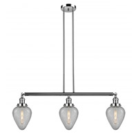 Polished Nickel Geneseo Island Lights