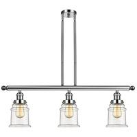 Canton 3 Light 36 inch Polished Nickel Island Light Ceiling Light