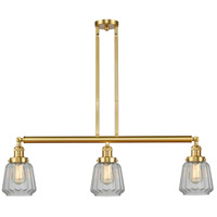 Satin Gold Glass Chatham Island Lights