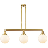 Satin Gold Large Beacon Island Lights