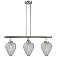 Innovations Lighting 213-SN-G165-LED Geneseo LED 38 inch Brushed Satin Nickel Island Light Ceiling Light Franklin Restoration