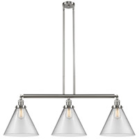 Innovations Lighting 213-SN-S-G42-L-LED X-Large Cone LED 44 inch Brushed Satin Nickel Island Light Ceiling Light Franklin Restoration