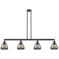 Innovations Lighting 214-OB-S-G173 Fulton 4 Light 51 inch Oil Rubbed Bronze Island Light Ceiling Light, Franklin Restoration