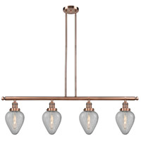 Geneseo 4 Light 48 inch Antique Copper Island Light Ceiling Light