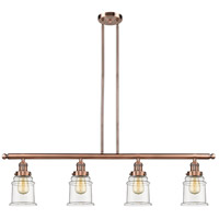 Canton LED 48 inch Antique Copper Island Light Ceiling Light