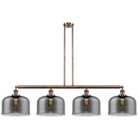 Innovations Lighting 214-AC-S-G73-L-LED X-Large Bell LED 54 inch Antique Copper Island Light Ceiling Light Franklin Restoration