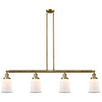 Innovations Lighting 214-BB-G181-LED Canton LED 51 inch Brushed Brass Island Light Ceiling Light Franklin Restoration
