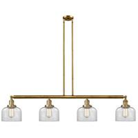 Innovations Lighting 214-BB-S-G72-LED Large Bell LED 53 inch Brushed Brass Island Light Ceiling Light Franklin Restoration