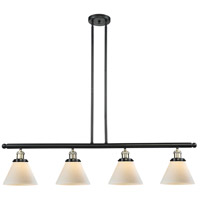 Innovations Lighting 214-BBB-G41 Signature 4 Light 48 inch Black and Brushed Brass Island Light Ceiling Light, Large, Cone photo thumbnail