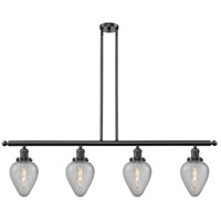 Geneseo 4 Light 48 inch Oiled Rubbed Bronze Island Light Ceiling Light