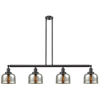 Innovations Lighting 214-OB-G78 Large Bell 4 Light 53 inch Oil Rubbed Bronze Island Light Ceiling Light Franklin Restoration