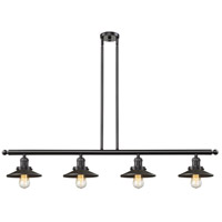 Innovations Lighting 214-OB-S-M5-LED Railroad LED 53 inch Oil Rubbed Bronze Island Light Ceiling Light Adjustable