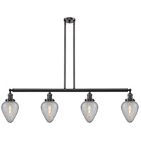 Innovations Lighting 214-OB-S-G165-LED Geneseo LED 52 inch Oil Rubbed Bronze Island Light Ceiling Light Franklin Restoration