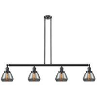 Innovations Lighting 214-OB-S-G173 Fulton 4 Light 51 inch Oil Rubbed Bronze Island Light Ceiling Light Adjustable