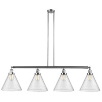 Innovations Lighting 214-PC-G44-L-LED X-Large Cone LED 56 inch Polished Chrome Island Light Ceiling Light Franklin Restoration
