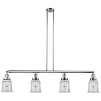 Canton 4 Light 51 inch Polished Chrome Island Light Ceiling Light, Adjustable
