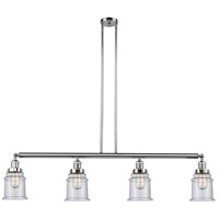 Canton LED 51 inch Polished Chrome Island Light Ceiling Light, Adjustable