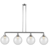 Innovations Lighting 214-PC-S-G204-10 X-Large Beacon 4 Light 54 inch Polished Chrome Island Light Ceiling Light Franklin Restoration